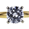0.88 ct. Round Cut Solitaire Ring, D, SI1 #4