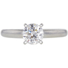 0.92 ct. Round Cut Solitaire Ring, G, VS2 #3