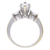 0.9 ct. Marquise Cut Ring, F-G, I1 #2