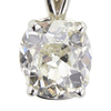 2.3 ct. Old Mine Cut Pendant Necklace, L, SI2 #3