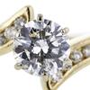 1.03 ct. Round Cut Bridal Set Ring #4