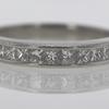 1.52 ct. Princess Cut Bridal Set Ring #2