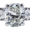 1.56 ct. Cushion Modified Cut Bridal Set Ring, J, VS1 #4