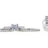 1.21 ct. Princess Cut Bridal Set Ring, G, VS2 #3