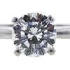 1.24 ct. Round Cut Solitaire Ring, F, SI1 #4