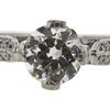 0.85 ct. Circular Brilliant Cut Bridal Set Ring, L, VS2 #4