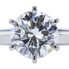 1.51 ct. Round Cut Bridal Set Ring, J, I1 #4