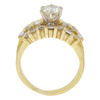 0.95 ct. Round Cut Ring, M-Z, SI2-I1 #2