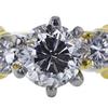 0.86 ct. Round Cut Bridal Set Ring, F-G, SI2-I1 #1