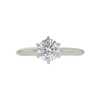 1.02 ct. Round Cut Solitaire Ring, F, I1 #3
