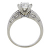 1.74 ct. Round Cut Solitaire Ring, H, SI2 #4