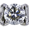 2.07 ct. Round Cut Bridal Set Ring, I, SI2 #4