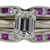 1.01 ct. Emerald Cut Solitaire Ring #2