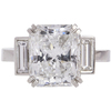 4.45 ct. Radiant Cut Solitaire Ring, E, VS2 #3