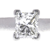 1.23 ct. Princess Cut Solitaire Ring, H, SI1 #4