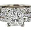 2.53 ct. Princess Cut Solitaire Ring, I, VS2 #4