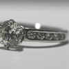 1.23 ct. Round Cut Central Cluster Ring #3