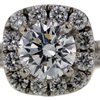 1.24 ct. Round Cut Halo Ring #2