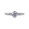 0.71 ct. Round Cut Solitaire Ring, D, VVS1 #3