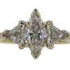 1.23 ct. Marquise Cut 3 Stone Ring #1