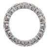 Round Cut Eternity Band Ring, H-I, I2-I3 #2