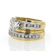 .99 ct. Round Cut Bridal Set Ring #2