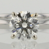 0.73 ct. Round Cut Solitaire Ring #1