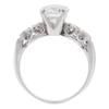 2.01 ct. Round Cut Bridal Set Ring, J, VS2 #4