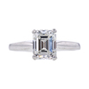 2.00 ct. Emerald Cut Solitaire Ring, G, SI1 #3