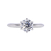 1.01 ct. Round Cut Solitaire Ring, G, SI2 #2