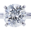 1.52 ct. Round Cut Bridal Set Ring, K-L, I2 #1