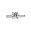 1.26 ct. Round Cut Solitaire Ring, J, SI1 #3
