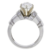 1.52 ct. Oval Cut Bridal Set Ring, J-K, VS1-VS2 #3