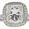 1.6 ct. Princess Cut Bridal Set Ring, I, VS1 #4