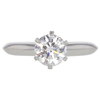 1.14 ct. Round Cut Solitaire Tiffany & Co. Ring, H, VS1 #3