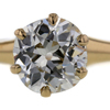 1.45 ct. Old Mine Cut Solitaire Ring #2
