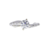 0.55 ct. Round Cut Solitaire Ring, G, VS2 #3