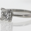 1.51 ct. Princess Cut Solitaire Ring #2
