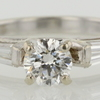 .71 ct. Round Cut Bridal Set Ring #1