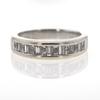 1.0 ct. Emerald Cut Bridal Set Ring #1