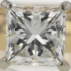1.5 ct. Princess Cut Solitaire Ring #3