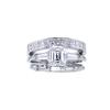 1.19 ct. Emerald Cut Bridal Set Ring, F, VS1 #3