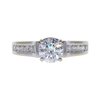 1.02 ct. Round Cut Solitaire Ring, H, VS2 #3