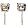 1.98 ct. Triangular Cut Stud Earrings #3