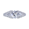 1.20 ct. Round Cut Bridal Set Ring, E, VS1 #3