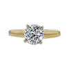 1.26 ct. Round Cut Solitaire Ring, J, VS1 #3