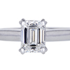 1.23 ct. Emerald Cut Solitaire Ring #3