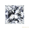1.12 ct. Princess Cut Solitaire Ring, I, VVS2 #1