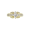 1.01 ct. Princess Cut Solitaire Ring, H, SI2 #3