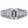 2.01 ct. Emerald Cut Solitaire Ring, H, SI1 #3